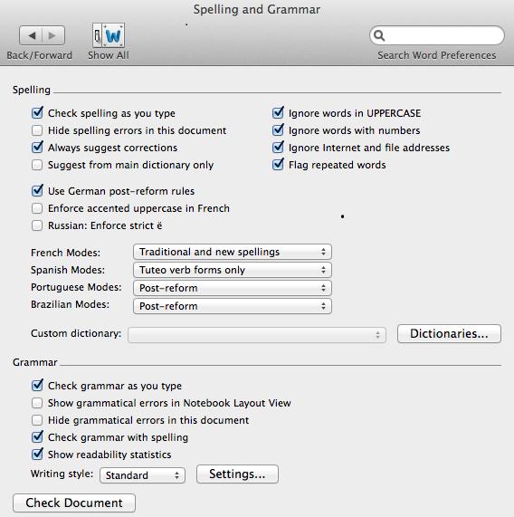 5 Mac readability
